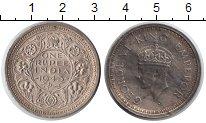 Изображение Монеты Индия 1 рупия 1945 Серебро XF