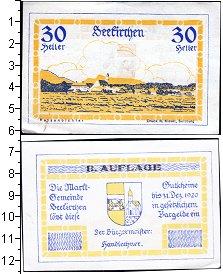 Изображение Банкноты Германия : Нотгельды 30 геллеров 1920  XF