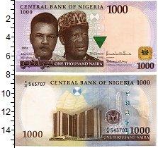 Изображение Банкноты Нигерия 1000 найр 2013  UNC-