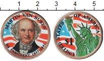 Изображение Цветные монеты США 1 доллар 2008 Латунь UNC-