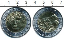 Изображение Монеты Финляндия 25 марок 2001 Биметалл UNC-