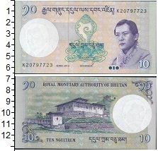 Изображение Банкноты Бутан 10 нгултрум 2013  UNC