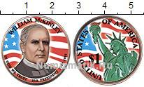 Изображение Цветные монеты США 1 доллар 2013  UNC 25-й президент. Уиль