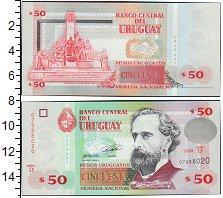 Изображение Банкноты Уругвай 50 песо 2008  UNC-