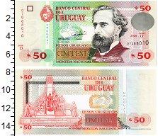 Изображение Банкноты Уругвай 50 песо 2008  UNC