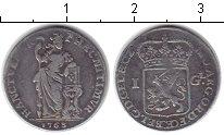 Изображение Монеты Нидерланды 1 гульден 1763 Серебро VF