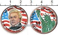 Изображение Цветные монеты США 1 доллар 2010 Латунь UNC