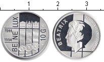 Изображение Мелочь Европа Нидерланды 10 гульденов 1994 Серебро Proof