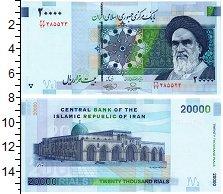 Изображение Банкноты Иран 20000 риалов 2009  UNC