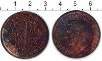 Изображение Монеты Великобритания 1/2 кроны 1948 Медно-никель VF