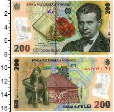 Изображение Банкноты Румыния 200 лей 2006  UNC Лучиана Блага. Стату