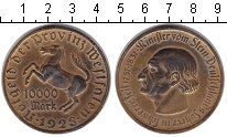 Изображение Монеты Вестфалия 10000 марок 1923  XF Минилтер вон Штейн.