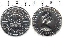 Изображение Монеты Северная Америка Канада 1 доллар 1978 Серебро UNC-