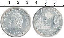 Изображение Монеты Испания 2000 песет 1998 Серебро XF
