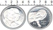 Изображение Мелочь Северная Америка США 1 доллар 2015 Серебро UNC