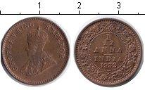 Изображение Монеты Индия 1/12 анны 1932 Медь XF