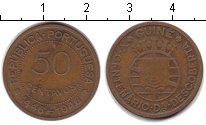 Изображение Мелочь Африка Гвинея-Бисау 50 сентаво 1946 Медь VF