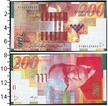 Изображение Банкноты Израиль 200 шекелей 2014  UNC