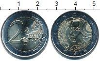 Изображение Мелочь Франция 2 евро 2015 Биметалл UNC