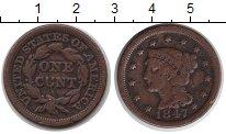 Изображение Монеты Северная Америка США 1 цент 1847 Медь VF