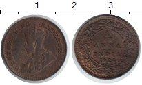 Изображение Монеты Азия Индия 1/12 анны 1926 Медь XF