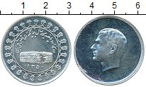 Изображение Монеты Иран Монетовидный жетон 1350 Серебро UNC- Мухаммед Реза