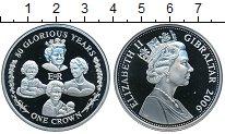 Изображение Монеты Гибралтар 1 крона 2006 Медно-никель Proof-