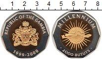 Изображение Монеты Африка Гамбия 2000 бутут 1999 Биметалл UNC-