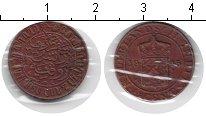 Изображение Монеты Нидерландская Индия 1/2 цента 1945 Медь VF