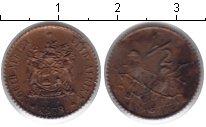 Изображение Монеты ЮАР 1/2 цента 1978 Медь
