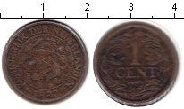 Изображение Монеты Нидерланды 1 цент 1922 Медь VF