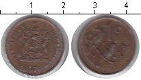 Изображение Монеты Африка ЮАР 1 цент 1974 Медь XF