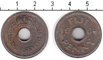 Изображение Монеты Фиджи 1 пенни 1964 Медно-никель XF