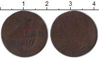 Изображение Монеты Европа Франфуркт 1 геллер 1819 Медь