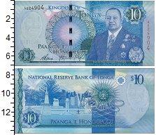 Изображение Банкноты Тонга 10 панга 0  UNC