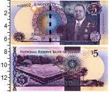 Изображение Банкноты Тонга 5 панга 0  UNC
