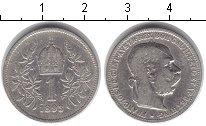 Изображение Монеты Европа Австрия 1 крона 1893 Серебро VF