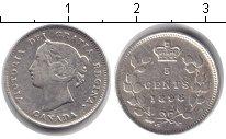 Изображение Монеты Северная Америка Канада 5 центов 1898 Серебро VF