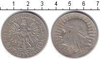 Изображение Монеты Польша 10 злотых 1932 Серебро XF .