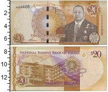 Изображение Банкноты Австралия и Океания Тонга 20 паанга 0  UNC