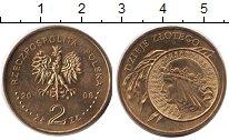 Изображение Мелочь Польша 2 злотых 2006 Латунь UNC История злотого