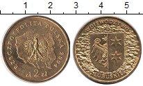 Изображение Мелочь Польша 2 злотых 2004 Медно-никель UNC-