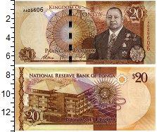 Изображение Банкноты Тонга 20 паанга 0  UNC