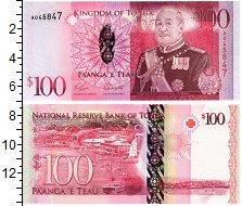 Изображение Банкноты Тонга 100 паанга 0  UNC