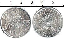 Изображение Монеты Европа Франция 10 евро 2009 Серебро UNC