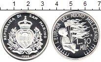 Изображение Монеты Сан-Марино 10000 лир 1998 Серебро Proof Международный год де