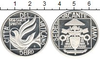 Изображение Монеты Ватикан 5 евро 2005 Серебро Proof-