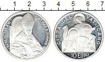 Изображение Монеты Ватикан 10 евро 1991 Серебро Proof-