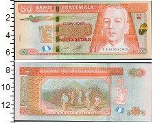 Изображение Банкноты Северная Америка Гватемала 50 кетсалей 2012  UNC
