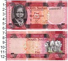 Изображение Банкноты Судан 5 фунтов 0  UNC